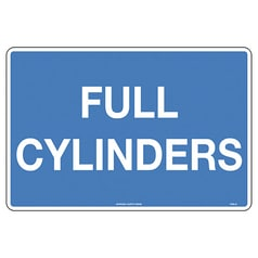 Full Cylinders Sign