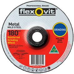 Flexovit A24/30T Metal Reinforced Grinding Wheel