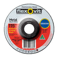 Flexovit A30S-BF27 Metal Grinding Wheel