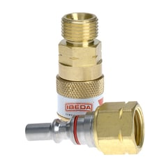 Tesuco Fuel Gas Quick Action Coupler