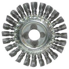 Flexovit Metal And Mild Steel Twist Knot Wire Brush - Angle Grinders
