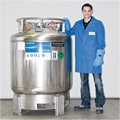 Stickstoff tiefkalt verflüssigt 600 l