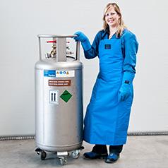 Helium – Kryobehälter Stratos 50 l