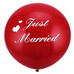 Just Married ø  75 cm