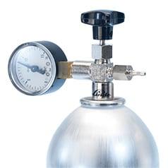 La pression des gaz spéciaux réducteur