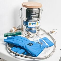 Accessoires pour réservoirs cryogéniques