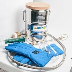 Accessori per contenitori criogenici