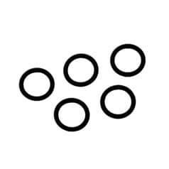 O-Ringe für Handanschluss, DIN 477 - 300 bar