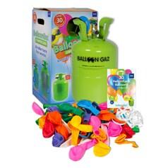 Standardpaket: Gas-Einwegbehälter inkl. Ballonen