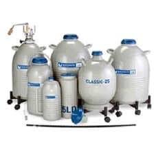 Stockage d'azote liquide