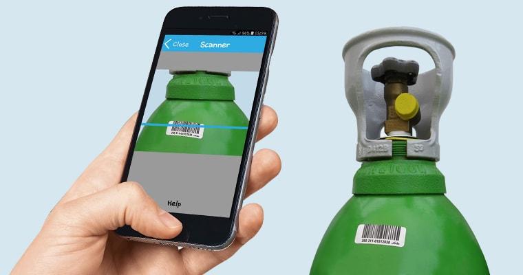cylinder scanning