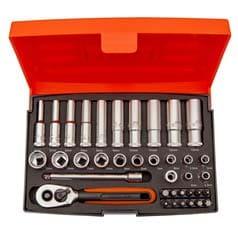 Bahco 37 Piece Socket Set