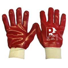 Fully Coated PVC Knitwrist Gloves