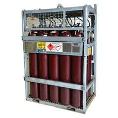 Dissolved Acetylene Manifolded Cylinder Pallet