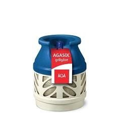 AGASOL® 5 kg grilgāze. Balons ar gāzi