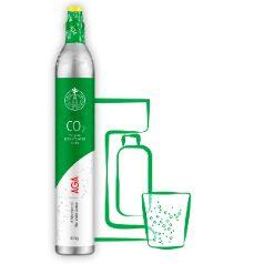 Kullsyreflasker BIOGON® C, pakket 18, Grønn