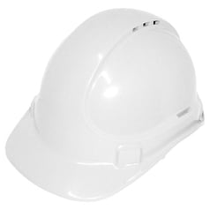 UniSafe TA570 UniLite Vented Safety Helmet - White