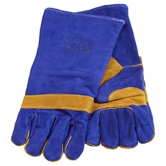 WELD GUARD Blue Welding Glove