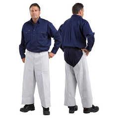 WELD GUARD Leather Welder's Pants