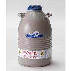 Low pressure vessel, liquid nitrogen
