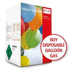 Disposable Helium Balloon Gas