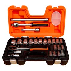 Bahco 24-Piece Socket Set