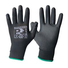Coloursafe PredBlack PU Gloves