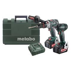Metabo 18v Brushless Li-Ion Twin Pack