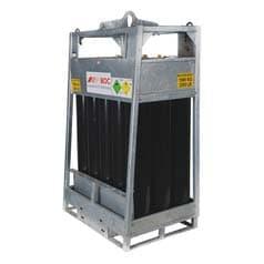 Oxygen Manifolded Cylinder Pallet, Industrial Grade, Compressed Gas