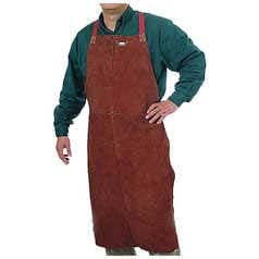 Red Premium Welder's Apron