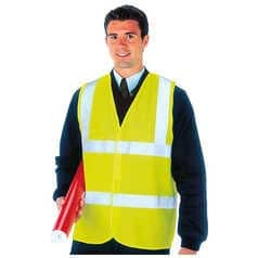 Hi-Vis Sleeveless Vest