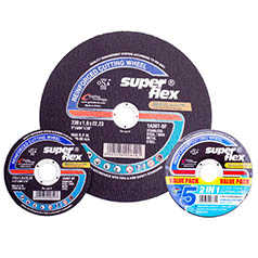 Cutting Discs - Carbon Steel(Industrial 2-1 / Stainless & Carbon Steel)